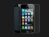 Free shipping for iPhone 5 Tempered glass Screen protector