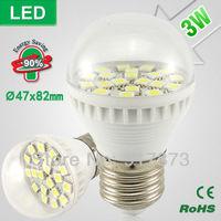 led bulb lamp light bulbs bubble ball bulb Scrub warm white led bulb leds energy saving Spot light lamp 82x47mm 3W