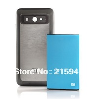 xiaomi 3000MAH battery  m2 m2s mobile phone  Original 3100mAH Extra battery + Thick back coverbattery xiaomi mi2 mi2s battery
