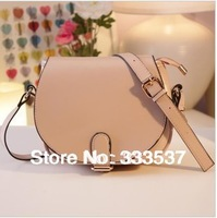 Free/drop shipping,Six candy colors High quality women vintage PU leather shoulder bag  lady cross-body handbag,wholesale