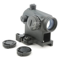 JJ Airsoft T1 Red Dot with QD Mount (Black) T-1 Red Dot FREE SHIPPING(ePacket/HongKong Post Air Mail)