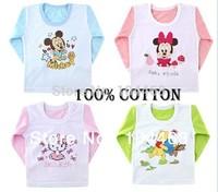 Factory price autumn all-match children's t-shirt,child long-sleeve T-shirt,T-shirts kids,child t-shirt 10pcs/lot free shipping