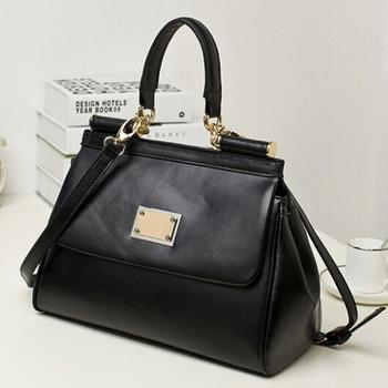 Guaranteed 100% women handbag Genuine Leather women messenger bags famous brand leather handbags designers brand new 2014 free