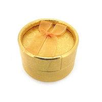 Free shipping, 5*5*3.5cm, Good quality paper wholesale jewelry box , Bowknot ribbon circular ring gift box