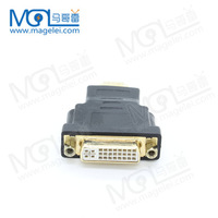 Gold plated HDMI Male to DVI-D(24+5) Female Adapter for HDTV PLASMA BLACK Brand New