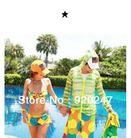 Lovers beach pants  multicolor  fashion  couple shorts swimming Men Women board shorts Easy-drying for holiday