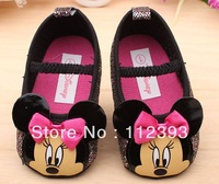 Lovely baby prewalker shoes first walkers baby shoes inner size 11cm 12cm 13cm ,Free shipping