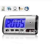 Clock hidden Camera digital,Alarm Colok wireless mini DVR USB motion sensor,remote control,video recorder mini camcorder.CL07A