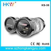 High Stereo USB Charge FM Radio Card Speaker , USB SD Card Speaker , Portable FM Radio Speaker