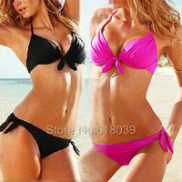 B013 VS Swimwears Brand Bikini Set For Women Bow Sexy Swimwear Beach wear Biquinis Brazilian Bathing Suit Sale Cheap 2014 Hot
