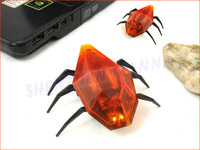 FREE SHIPPING USB Remote Infrared RC Mini Robot Electronic Toys Mechanical Beetles Controller 1PC # EC099