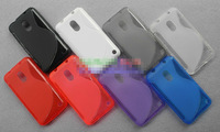 Free Shipping! High Quality S Line TPU Soft Gel Back Case for Nokia Lumia 620 Skidproof Soft Shell Cover, NOK-014