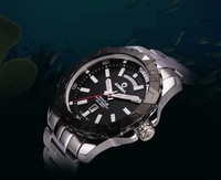 2013 Casima Mens Diving Sports Watch Luminous Chronograph Calendar Quartz WristWatch Military Watches Hours For Men WWM0046
