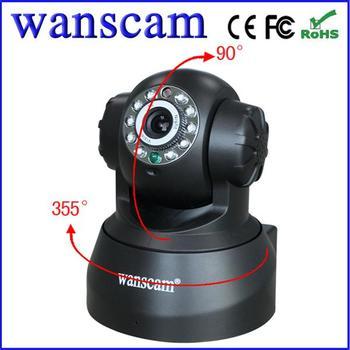 Wanscam P2P Plug and Play Wireless IR IP Surveillance Security Camera With TF/Micro SD Memory Card Slot