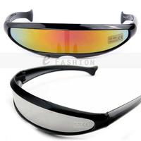 Hot Sale! 2015 Fashion New Goggles Unisex Summer Shade Science Fiction Style UV400 Sunglasses 120-0020