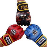 Half Finger Fight Boxing Gloves Mitts Sanda karate Sandbag taekwondo Protector For Boxeo Mma Muay Thai kick boxing gloves