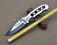 Hot Sale! 083BS Full Steel Folding Pocket Knife Survival Knife Gift Knife Outdoor Tools