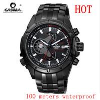 2014 Sale Watches Watch Casima 8202 Multifunction Quartz Stainless Steel Sports Men Wristwatches Hardlex Water Resistant Real