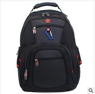 2013  Men Women Swiss Army Knife fashion 15 double-shoulder laptop bag sport backpack travel bag computer backpack bags 9394