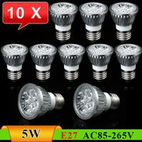 10pcs/Lot E27 5W High Brightness Energy Saving Downlight LED Spot Light------Limited Time Offer
