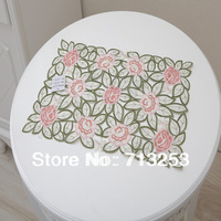 12 PCS/bag in retail and wholesale No.133-2 High quality embroidered table placemat (30*45cm  )Home textile for wedding  hotel