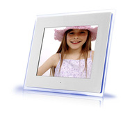 Wholesale -2014 the newest   12 Inch Digital Photo Frame Multifunction Music Video Player Ebook Calend Clock Free Shipping