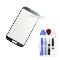 Two Colors Black and White Outer Glass Replacement for Samsung Galaxy S4 i9500, Free Tools, HK Free Shipping