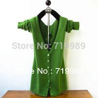 Fashion Women Cashmere Cardigan Thin Coat Long-sleeve Sweater Air Conditioning Shirt Free Shipping