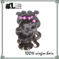 Wholesale Cheap price Grade 6A unprocessed human hiar  Peruvian virgin hair Body wave 12-30inch 1kg DHL Free shipping