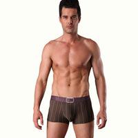 Sale 2013 New Men's Fashion Comfortable boxer Ultrathin Shorts Sexy Underwear 3Pieces/Lot 4Colors M-XXL NNP041