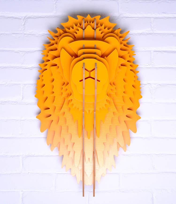 achetez en gros sculpture de carton en ligne des