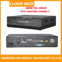DVB-S2 Cloud IBOX digital satellite receiver support enigma 2+IPTV+YOUTOBE MINI VU+SOLO