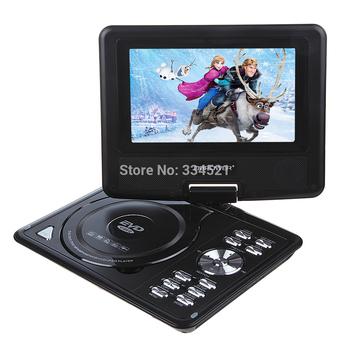 "2 day Shipping!!! Quality DBPOWER@ 7.5"" Portable DVD Player LCD Screen RMVB MP3 MP4 USB TV Car FM TXT Function MP0212"