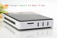 hot quality,3pcsDVB-S2 Google Android 4.0 Smart TV Box IPTV WiFi Internet HD1080P HDMI player ARM Cortex A9  ,Free Shipping