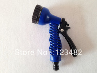 200pcs/lot blue sprayer nozzle blue water gun for hose pipe.