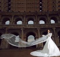 5 Meters Long Wedding Veil Bridal Head Veils Top Quality Veil Ivory / White Color Lace Elegant Wedding Accessories Hot Sale