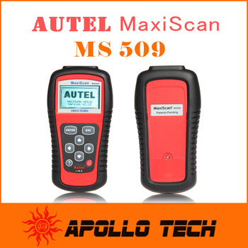 [Top Autel Authorized Distributor] MaxiScan MS509 OBDII / EOBD Most Economical Auto Code Reader for US / Asian / Europe cars