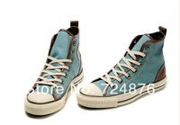 Free shipping men and women jailbreak classic canvas shoes, casual lovers shoes 3 colors size 35-43  high-top and low to help