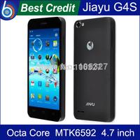 In stock!Original Jiayu G4s G4C MTK6592 Octa core 1.7Ghz  2GB Ram 16GB Rom 3000mah black smartphone In stock/Kate