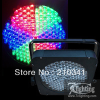 10pcs/Lot Free shipping+183 LED Flat Par,Dmx512 Up-Lighting,RGB Mixing Colors Wash Slim PARcan
