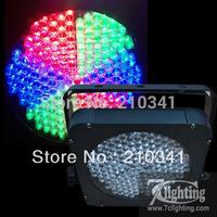 10pcs/Lot Free shipping,RGB 183 LED Flat Par,Dmx512 PARCAN,183*10MM Hi-quanlity RGB LED,American Event Slim UpLights