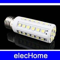 AC 220V E27 44 leds 5050 SMD 7W  LED Corn Light Bulb Lamp Energy Saving LED Spot Down Lights Lamps Bulbs Free Shipping