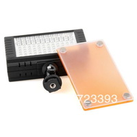 NEW WanSen W96II LED Video Camera Light For Canon 5D 7D 50D 60D 550D 600D+ Tracking Number