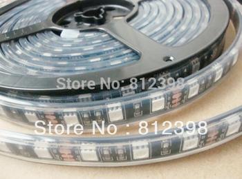 LED Ribbon Strip 5050 waterproof IP68 with silica gel, 3000LEDs, black FPCB, 5meters/reel
