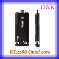 MK802 IV Rikomagic MK802IV Android 4.2.2 RK3188 Quad Core Mini PC TV BOX stick 1.8GHz Jelly Bean DDR3 wifi 2GB/8GB