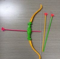 2015 New Outdoor Fun & Sports  Shooting Archery Min Crossbow Bows and Arrow Toy For Children Kids Baby Toy With Safe Soft Arrows