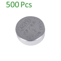 500PCS* AG13/LR44/A76  Alkaline Button Coin  Battery for watches, toys etc