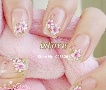 150Sheet  Watermark Water designs Nail Sticker Tattoos Mix Flowers 3D Nail Art Decoration,Nail Stickers Decal Dropshipping  4511