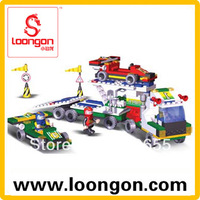 LOONGON Construction Building Toy City Series Block Set 250Pcs 19112