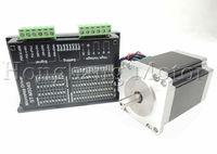 CNC Router Kit single Axis,2M542 Stepper Motor Driver Controller 4.5A DC24-50V +nema 23 270 Oz-in 76mm 3A Stepper motor
